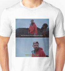 No Context Karl Pilkington - Volcanos  Unisex T-Shirt