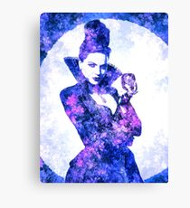 Once Upon A Time - Evil Queen (Lana Parrilla) Canvas Print