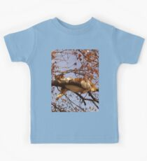 Cat on a tree Kids Tee