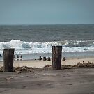 Boardwalk Remains   Breezy Point, New York by © Sophie W. Smith