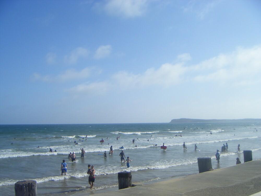 a nice day at the beach by katesmiffy