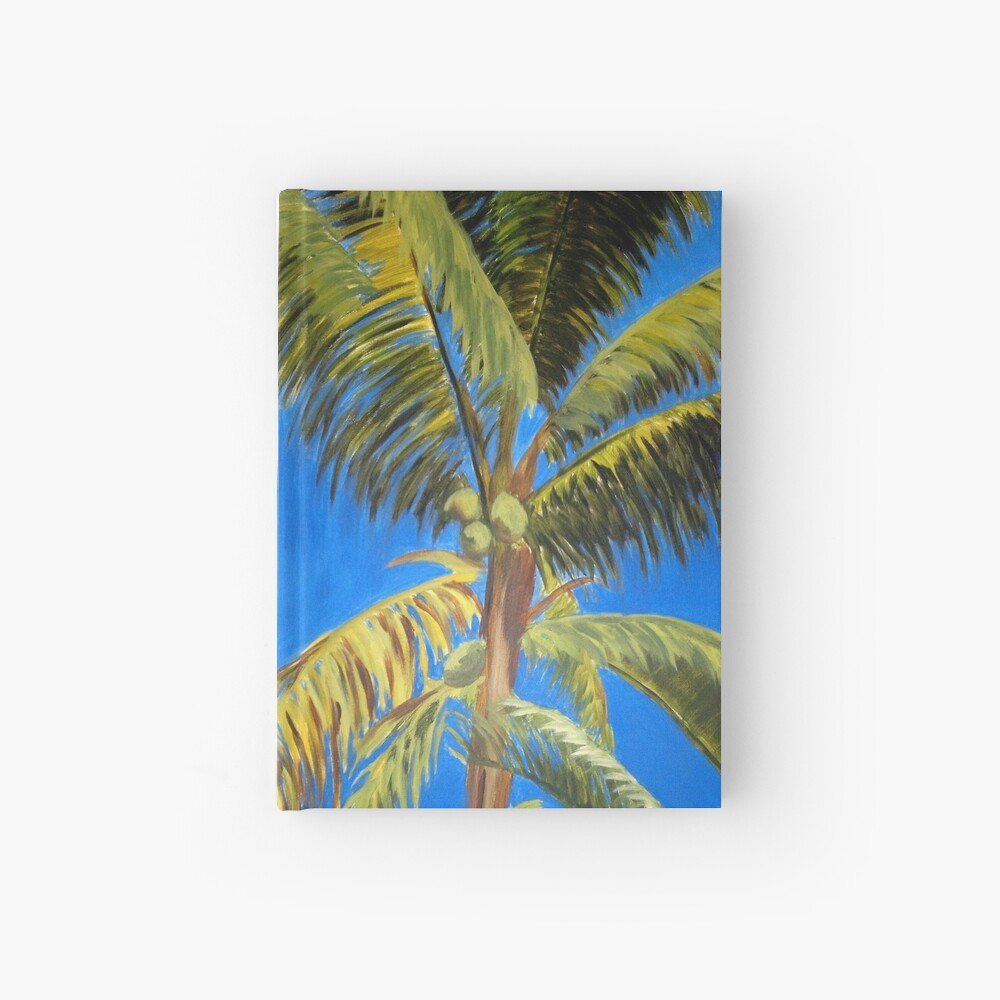 Palm tree Hardcover Journal