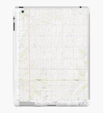 USGS TOPO Maps Iowa IA Red Oak South 20130410 TM iPad Case/Skin