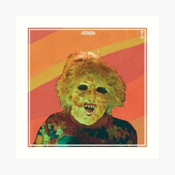 Ty Segall Melted Album Art Print
