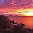 Coral Bay sunset by Tony Middleton