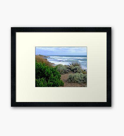 Pearse Beach Framed Print