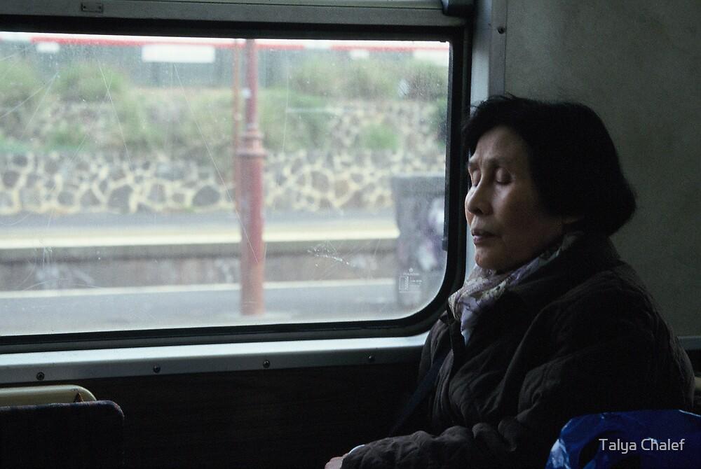 commuter 5 by Talya Chalef