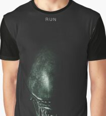 Run - Alien Graphic T-Shirt