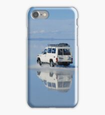 Car on water - Salar Uyuni iPhone Case/Skin