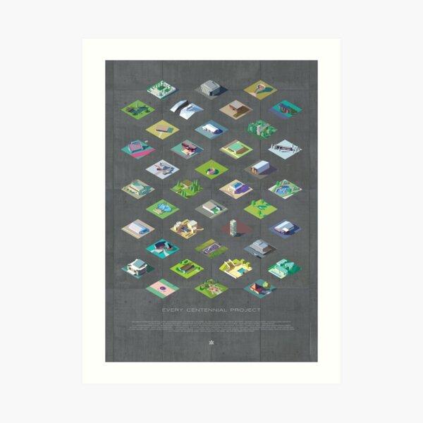 Every Centennial Project #1 Art Print