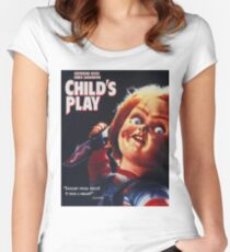 Chucky - Childs Play Women's Fitted Scoop T-Shirt