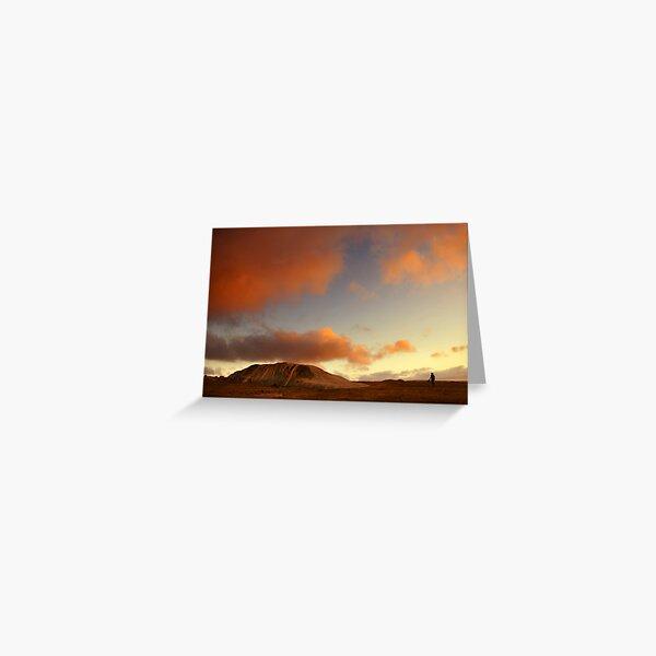 Sunset at Dog Rocks Greeting Card
