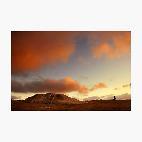 Sunset at Dog Rocks Photographic Print