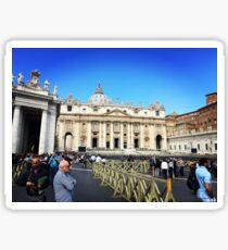 St Peter's Square, Rome Sticker