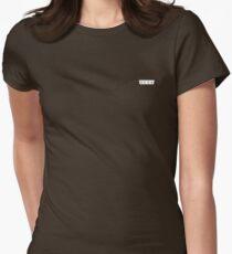 TeamSesh // Sesh Logo // White Womens Fitted T-Shirt