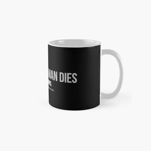 OGTA - When an Old Man Dies, A Library Burns Classic Mug