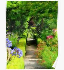 Artist Garden Poster