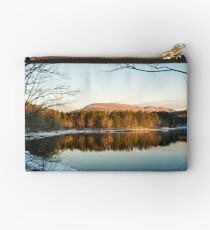 Winter Morning Glow Studio Pouch