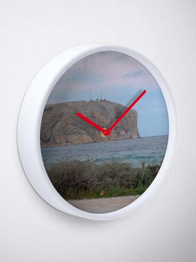 Alternate view of Javea Xabia Spain Clock