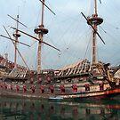 Galleon by Tom Gomez