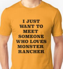Monster Rancher is love Unisex T-Shirt
