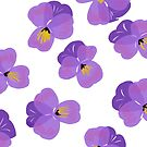 Pretty Pansies by inkandstardust