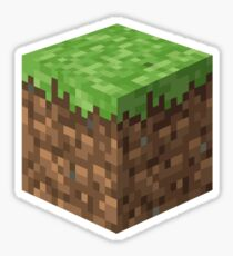 Minecraft Grass Block Sticker