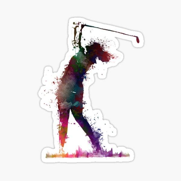 Golf player 2 #sport #golf Sticker
