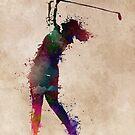 Golf player 2 #sport #golf by JBJart
