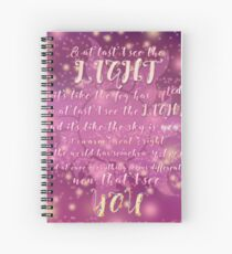 Tangled Spiral Notebook