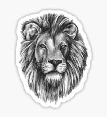 Justin Bieber Lion Tattoo Sticker