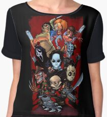 Horror guys Chiffon Top