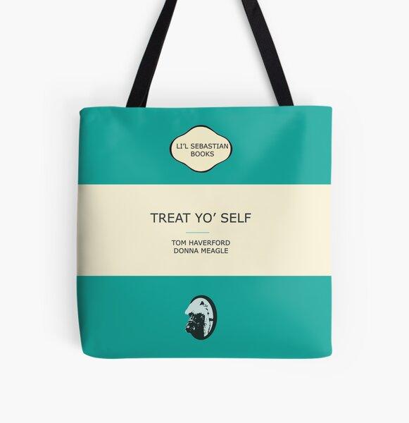 Tratarte a ti mismo Bolsa estampada de tela