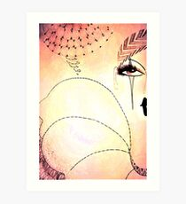 Pierrot Jacqueline Mcculloch Art Print