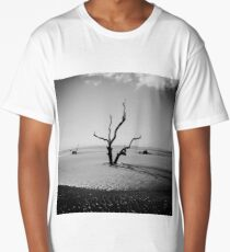 Boneyard Beach IV: Capers Island, South Carolina Long T-Shirt