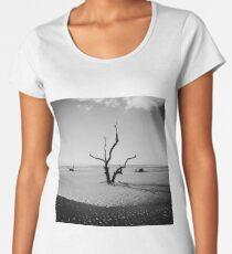 Boneyard Beach IV: Capers Island, South Carolina Women's Premium T-Shirt