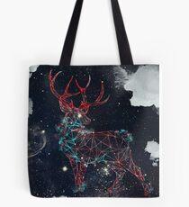 Celestial Deer Tote Bag