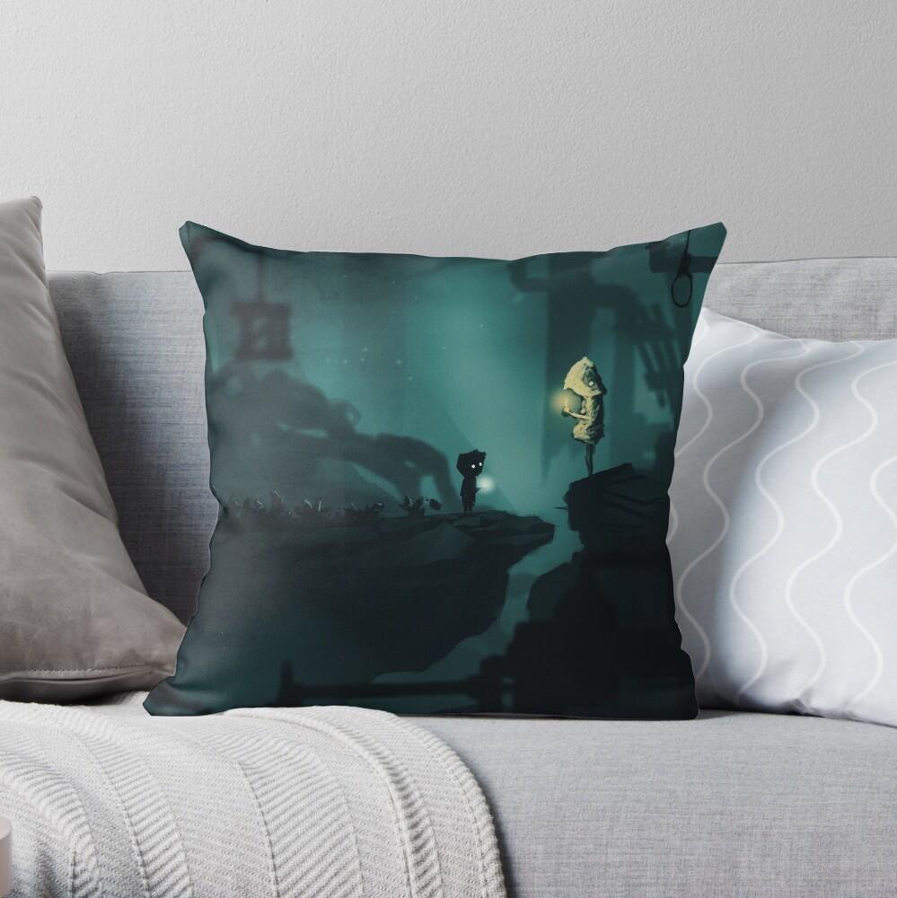 Limbo little nightmare Throw Pillow