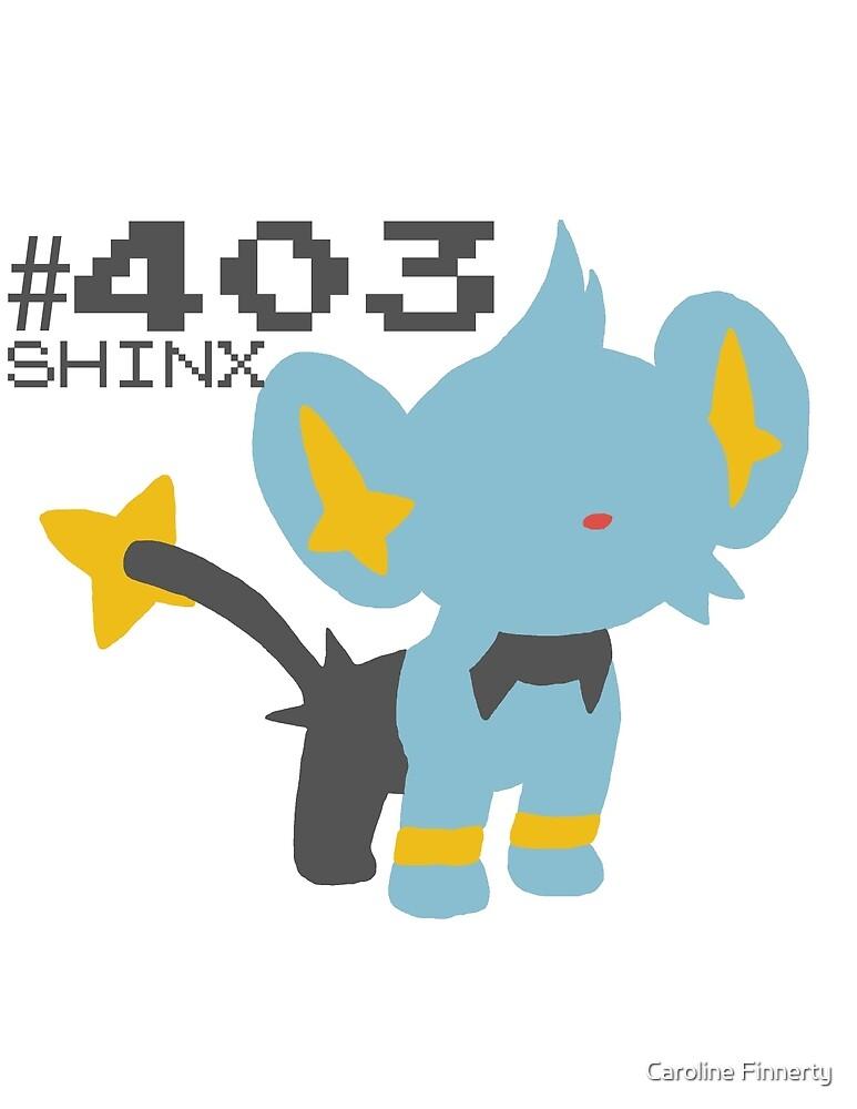 SHINX! POKEMON by Caroline Finnerty