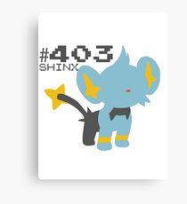 SHINX! POKEMON Canvas Print