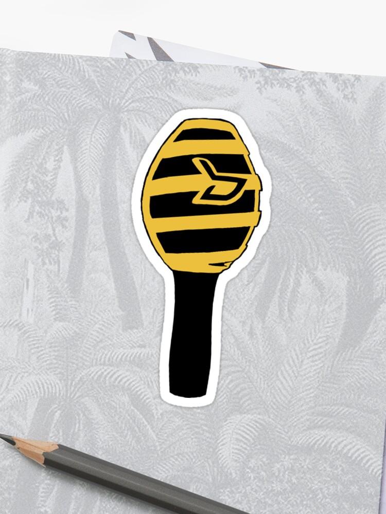 Block B Honigstab Sticker