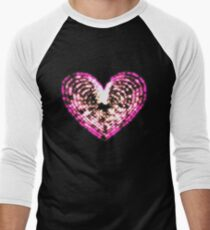 The Heart Men's Baseball ¾ T-Shirt