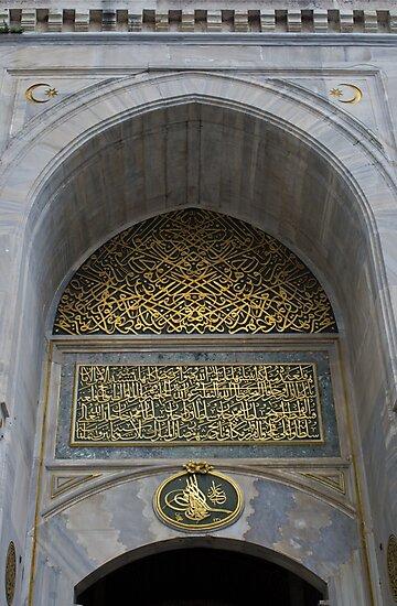 Arabic Script by Michael Anderson