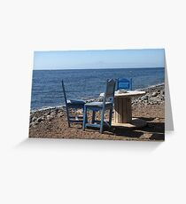Take a Seat! Greeting Card
