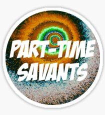 Part-Time Savants Halley Design Sticker