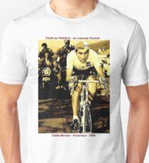 TOUR de FRANCE: Vintage Eddie Merckx Victory Print T-Shirt