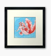 Goldeen Merman Framed Print