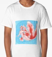 Goldeen Merman Long T-Shirt
