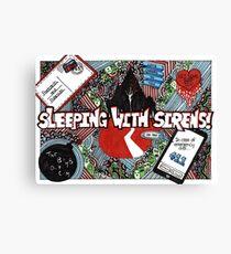 sleeping with sirens Canvas Print