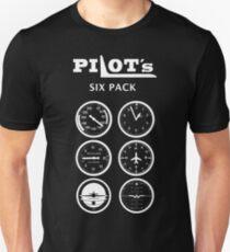 Every Pilots Six Pack Unisex T-Shirt